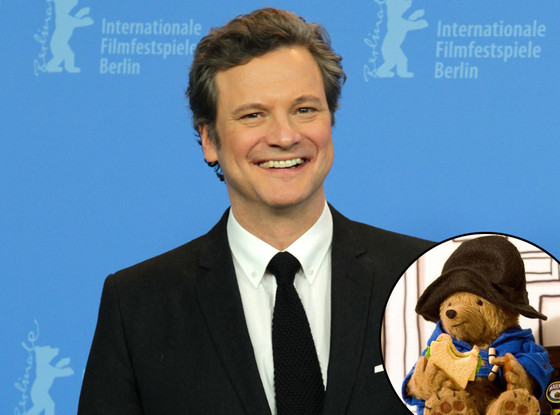 Colin Firth, Paddington Bear