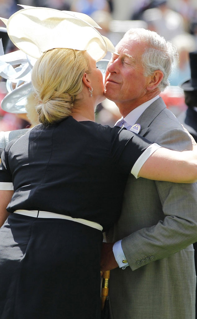 Prince Charles, Zara Philips