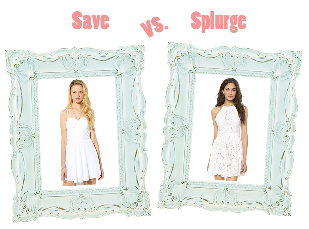 Summer Dresses, Save vs. Splurge