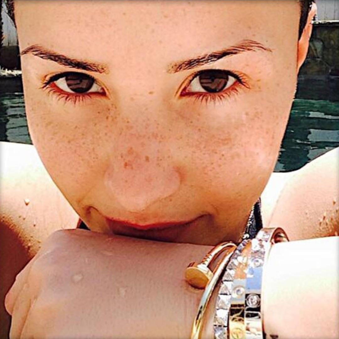 Demi Lovato Is A Brazilian Beach Babe In Teeny Tiny Thong