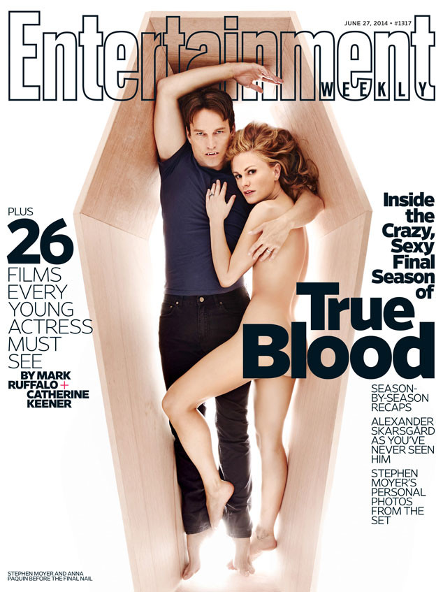 Anna Paquin, Stephen Moyer, True Blood, EW