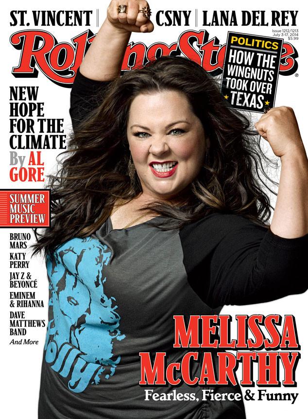 Melissa McCarthy, Rolling Stone