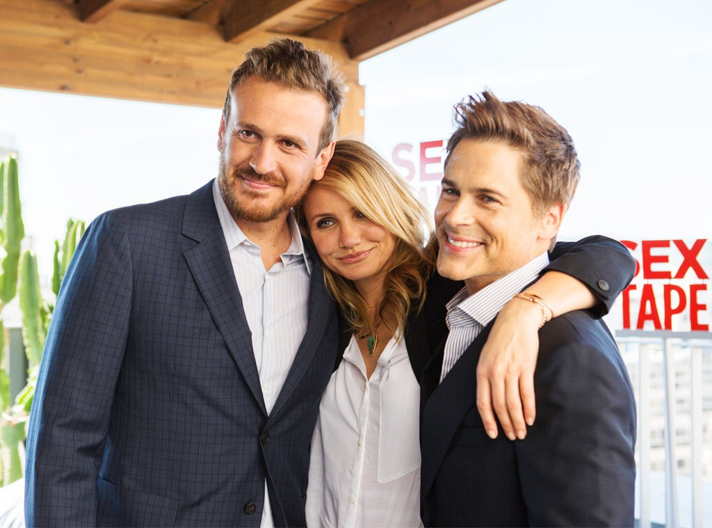 Jason Segel, Cameron Diaz, Rob Lowe