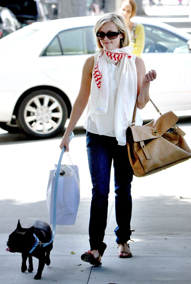 Reese Witherspoon, Dog, Coco Chanel