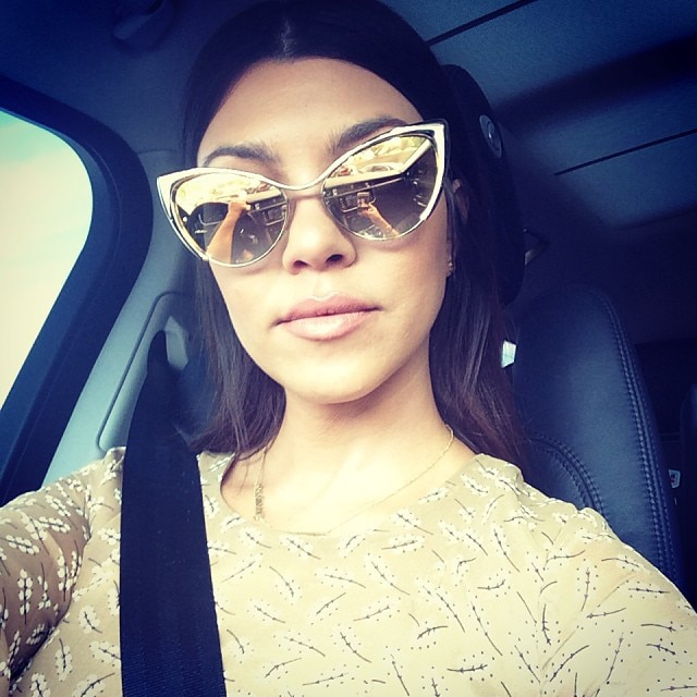 776805103b91 Oversized Sunglasses from Latest Kardashian Trends