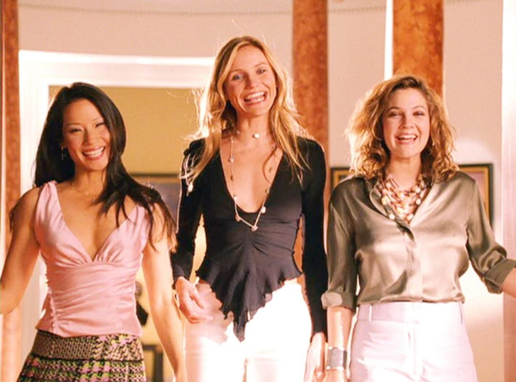 Cameron Diaz, Lucy Liu, Drew Barrymore, Charlie's Angels