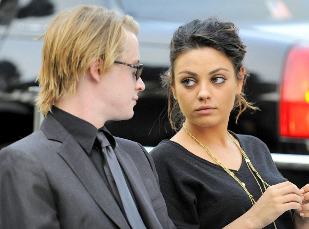 Macaulay Culkin, Mila Kunis, Michael Jackson Memorial