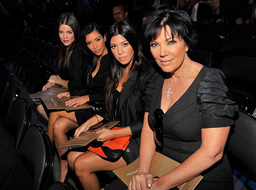 Khloe Kardashian, Kim Kardashian, Kourtney Kardashian, Kris Jenner, Michael Jackson, Memorial