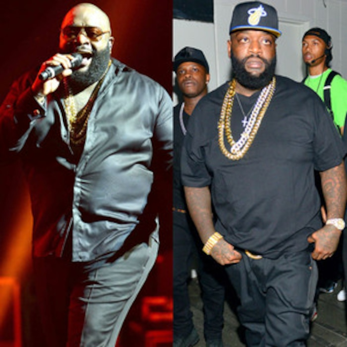 rick ross weight loss is unbelievable see pics of the rapper s