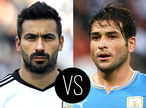 World Cup Hotties, Ezequiel Lavezzi, Nicolas Lodeiro