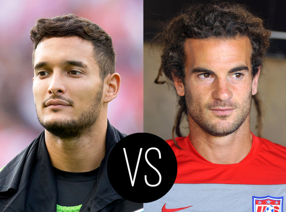 World Cup Hotties, Liassine Cadamuro, Kyle Beckerman