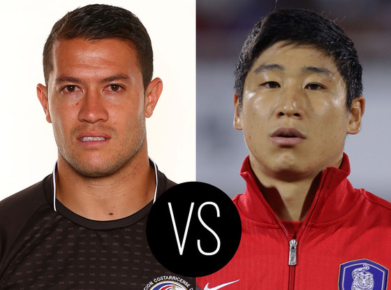 World Cup Hotties, Daniel Cambronero, Lee Keun-Ho