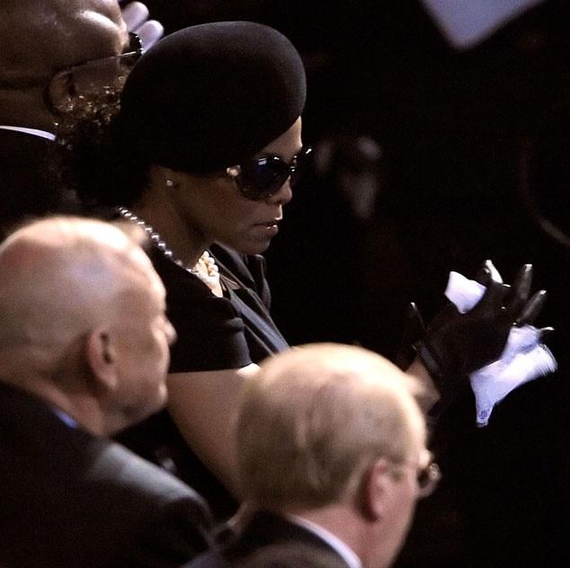 Janet Jackson, Michael Jackson, Memorial