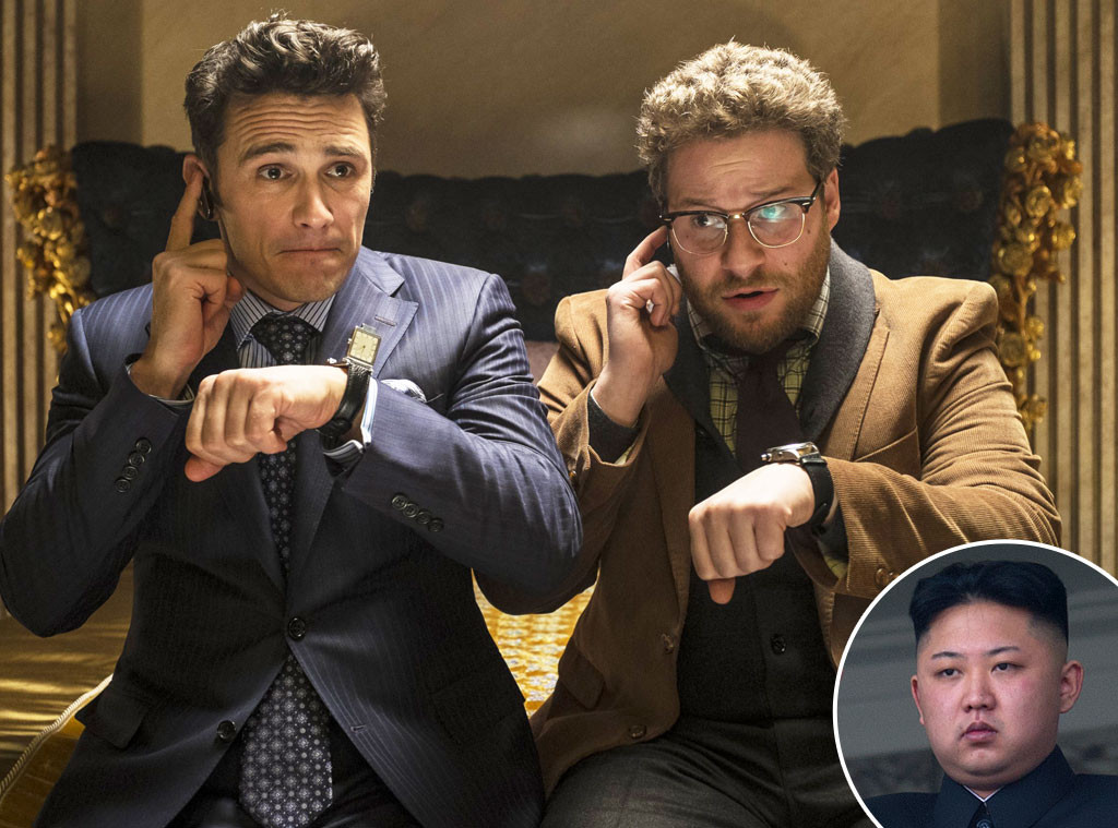 James Franco, Seth Rogen, Kim Jong Un