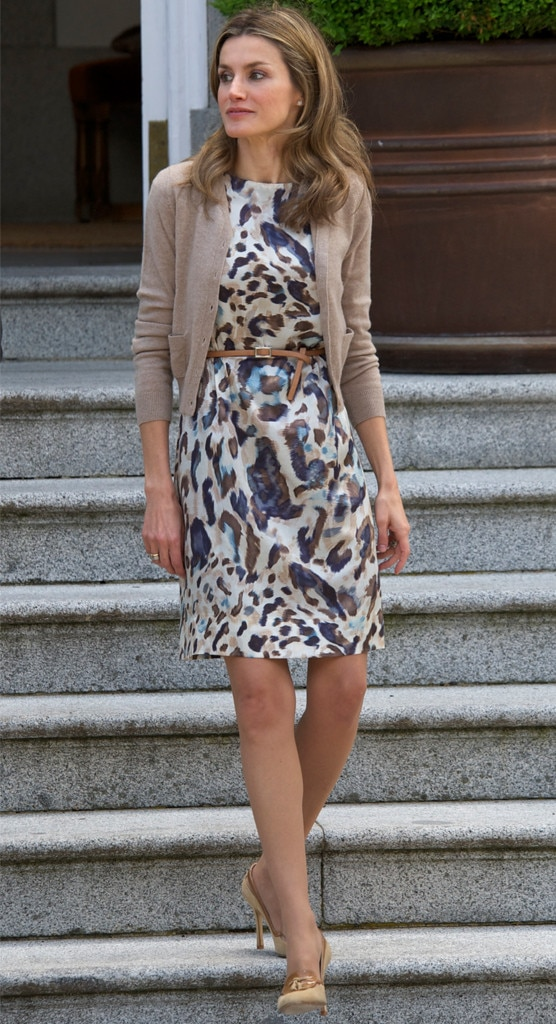 Prints Please From Queen Letizia Of Spain 39 S Best Looks E News