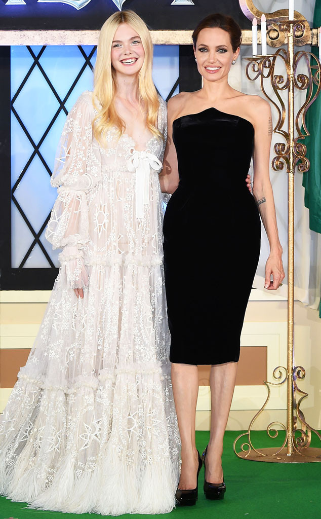 Elle Fanning and ''Mom...