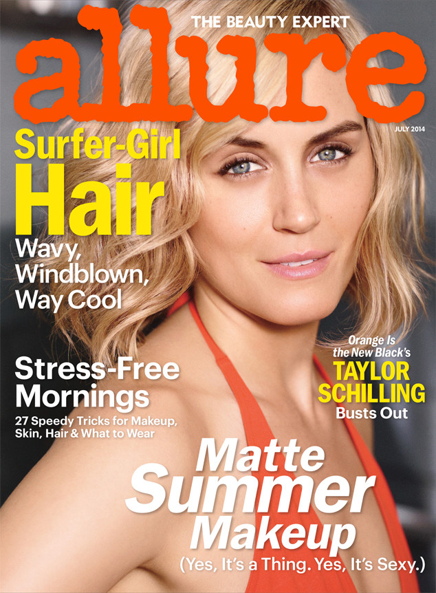 Taylor Schilling, Allure Magazine