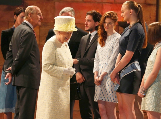Queen Elizabeth II, Game of Thrones
