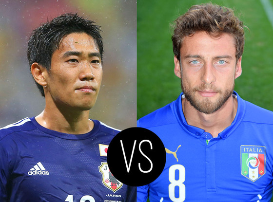 World Cup Hotties, Shinji Kagawa, Claudio Marchisio