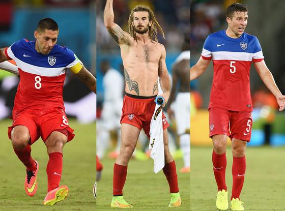 World Cup, Americans, Clint Dempsey, Kyle Beckerman, Matt Besler