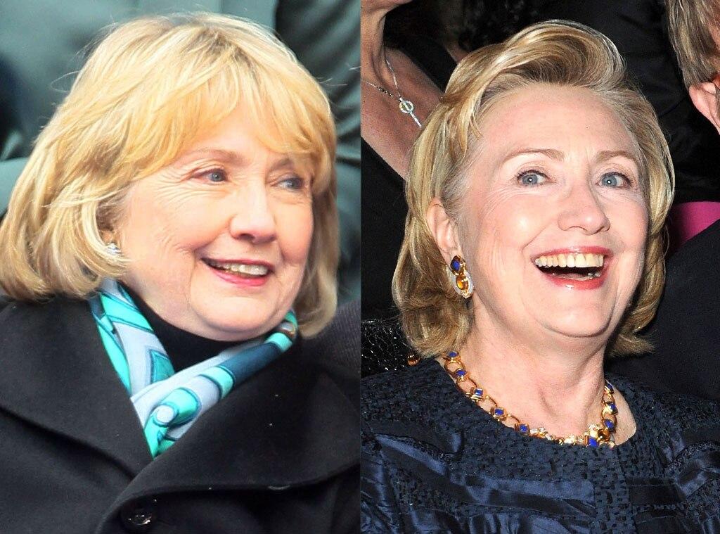 Hillary Clinton, Bangs