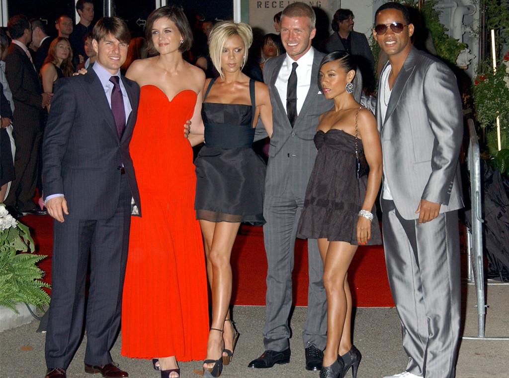 Tom Cruise, Katie Holmes, Victoria Beckham, David Beckham, Jada Pinkett  Smith,
