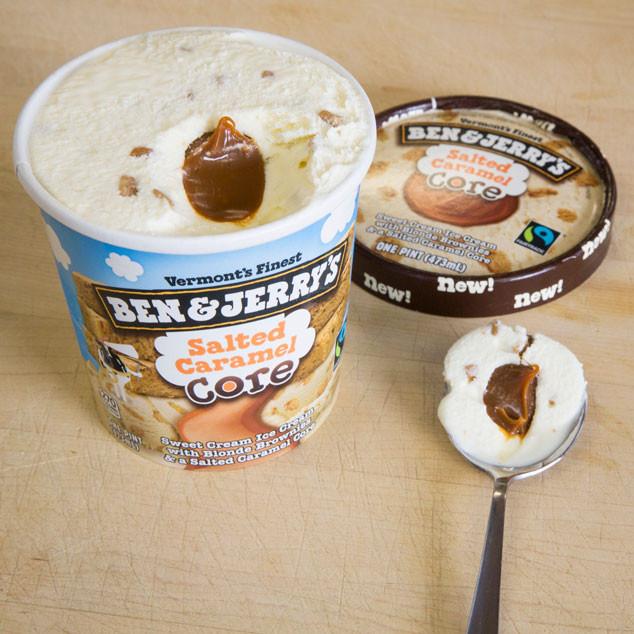 Best Ice Cream, Ben & Jerry's, Salted Caramel Core