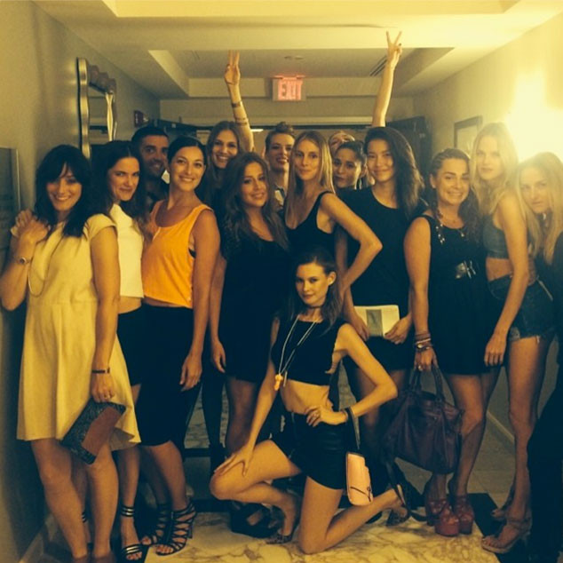 Behati Prinsloo, Bachelorette Party