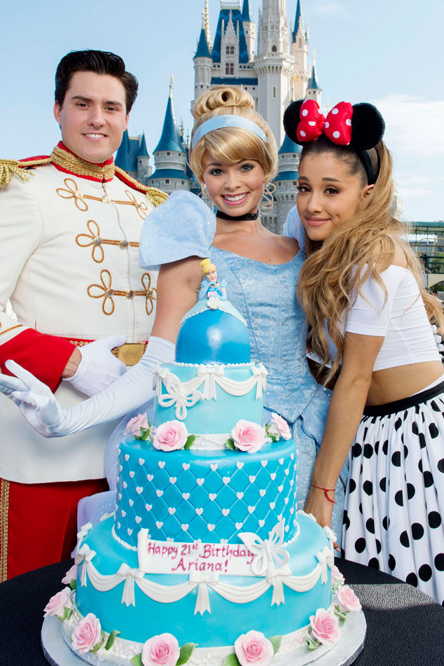 Ariana Grande Celebrates Her 21st Birthday At Disney World See The