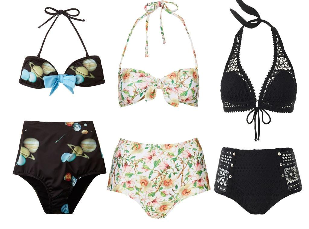 Swimsuit Trends, High-Waisted Bikinis