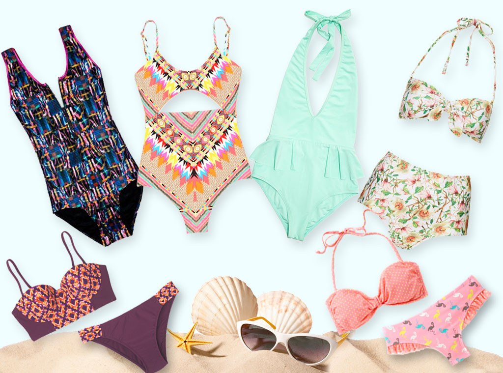 Swimsuit Trends, Collage