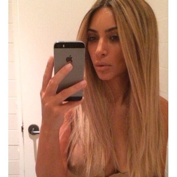 Kim kardashian see through nipples