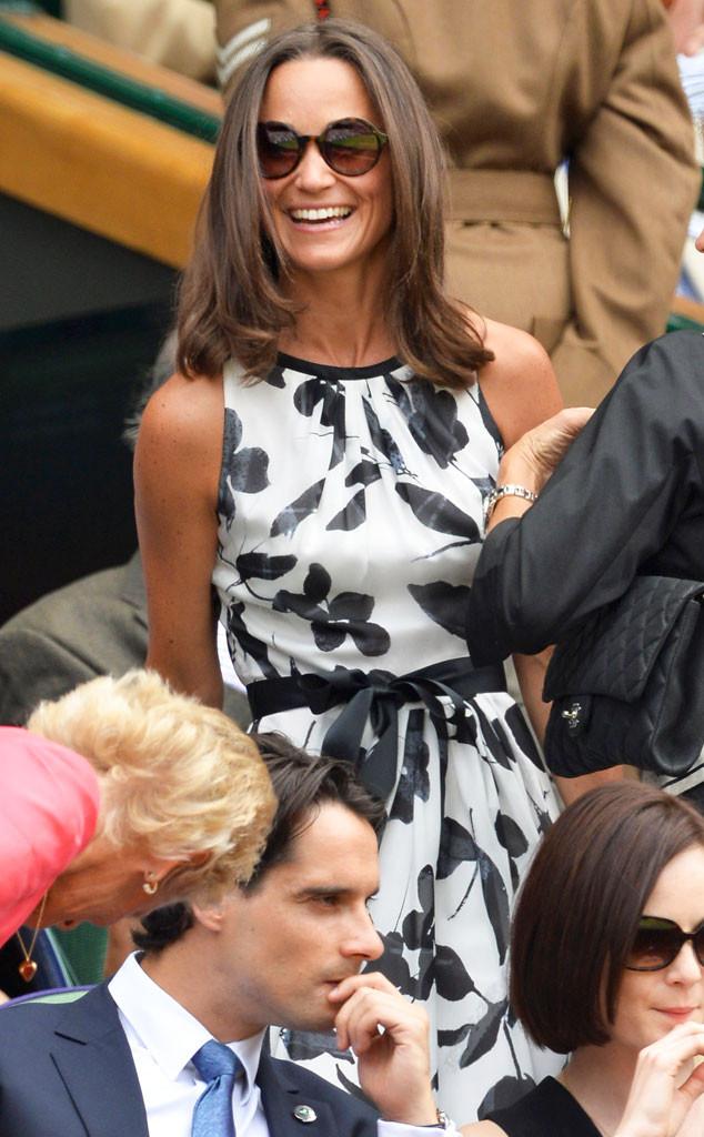 Pippa Middleton, Wimbledon