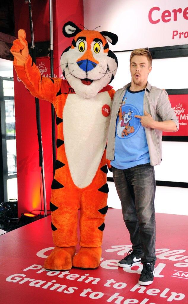 Derek Hough, Tony the Tiger