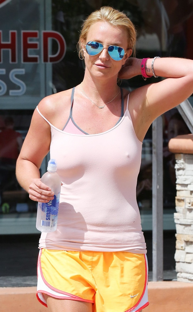 Britney spears soying her boobs