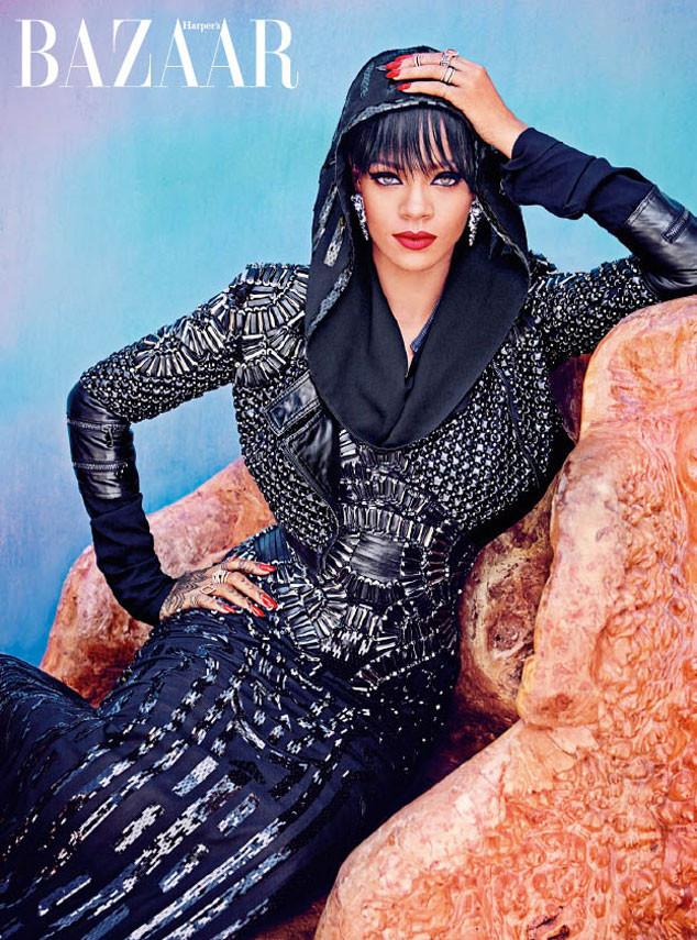 Rihanna, Harper's Bazaar Arabia