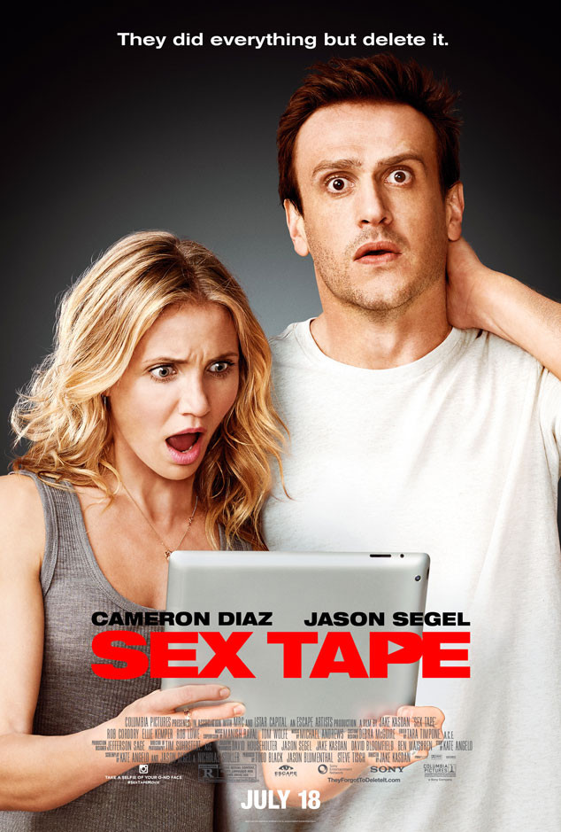 Cameron Diaz & Jason Segel Leave the Sex Tape at Home to