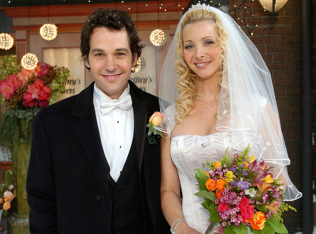 Paul Rudd, Lisa Kudrow, Friends, Favorite TV Couples