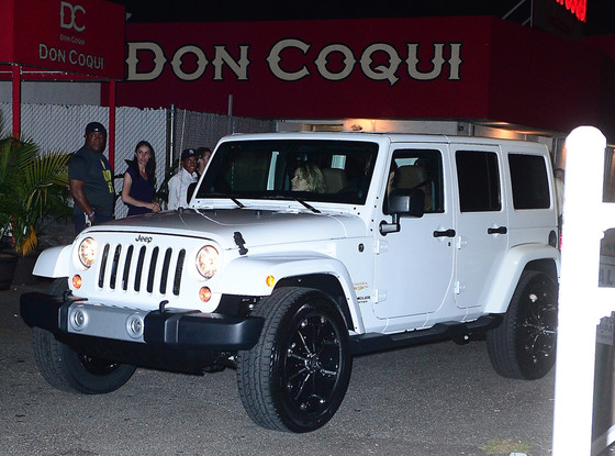 Khloe Kardashian, Birthday Jeep