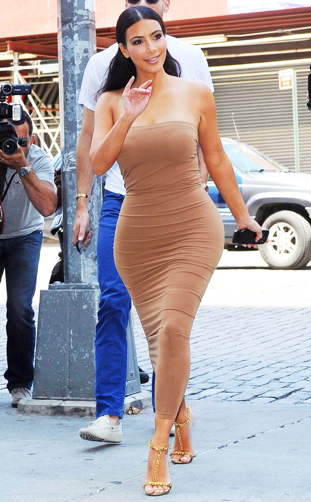 Second Skin From 35 Times Kim Kardashian Made Beige Look Sexier Than Being Nude  E News-2038