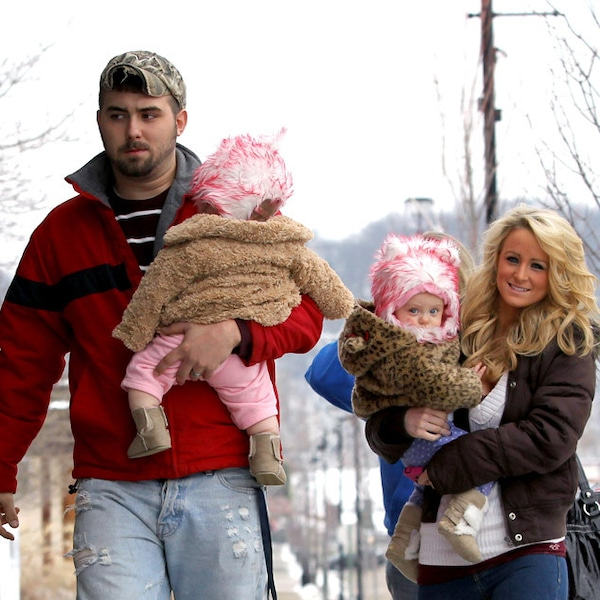 Corey Simms And Leah Messer, Teen Mom From Reality TV