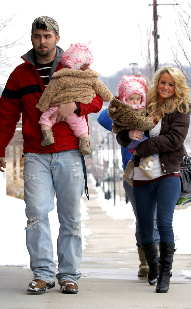 Corey Simms, Leah Messer, Teen Mom