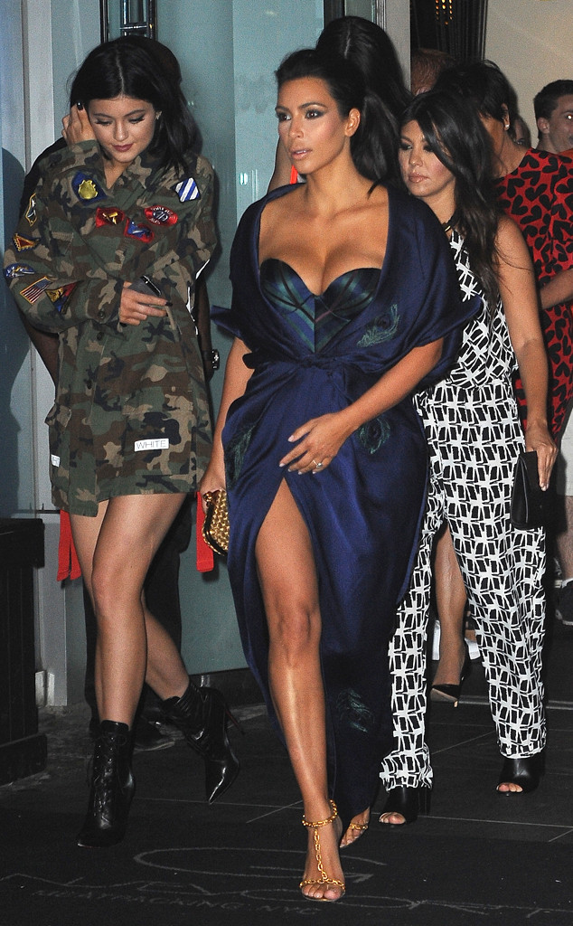 Kim Kardashian, Kourtney Kardashian, Kendall Jenner, Kylie Jenner, Kris Jenner