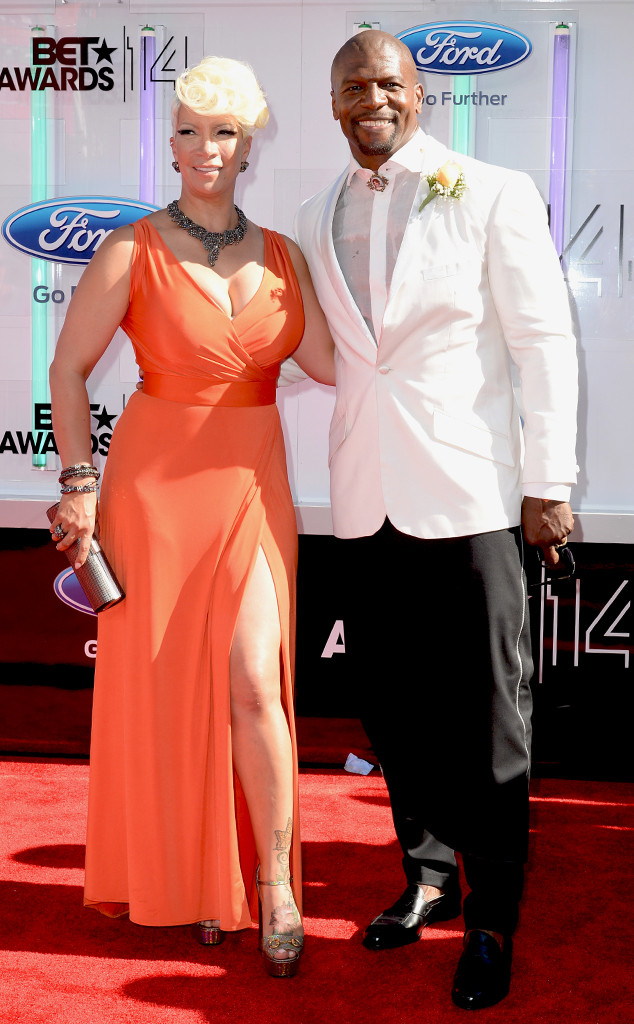 Terry Crews, Rebecca Crews, BET AWARDS