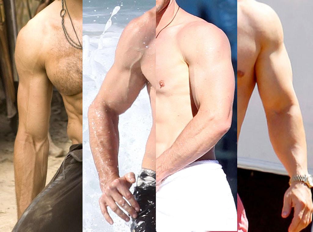 Best Arms, Mark Wahlberg, Hugh Jackman, Chris Hemsworth, Jake Gyllenhaal