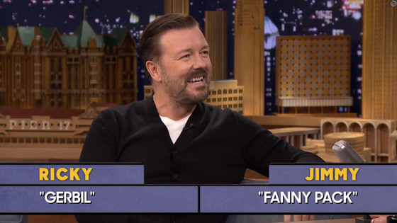 Ricky Gervais, The Tonight Show with Jimmy Fallon
