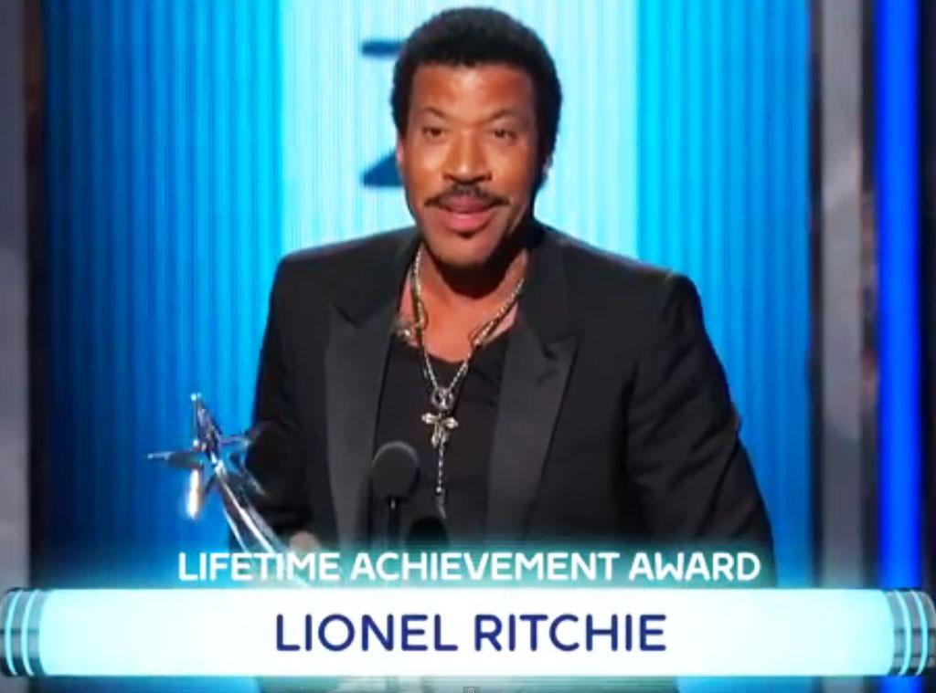 Lionel Richie, BET Awards, Misspelling