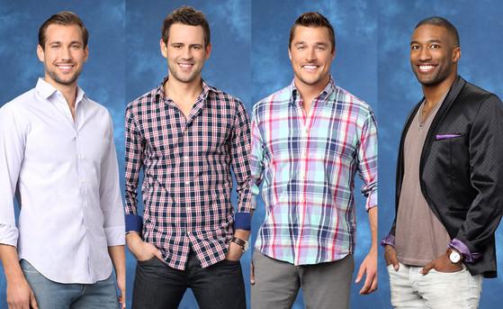 Bachelorette, Marcus, Nick V., Chris, Marquel