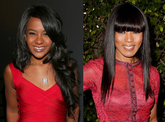 Bobbi Kristina Brown, Angela Bassett