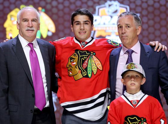 Nick Schmaltz, NHL draft